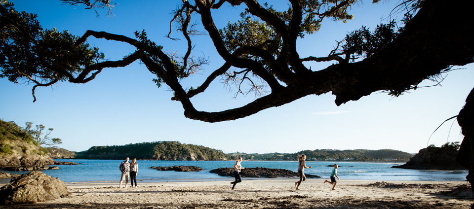 Family Matapouri Beach-